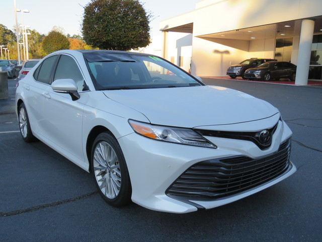 Certified Pre-Owned 2018 Toyota Camry XLE Auto (Natl)