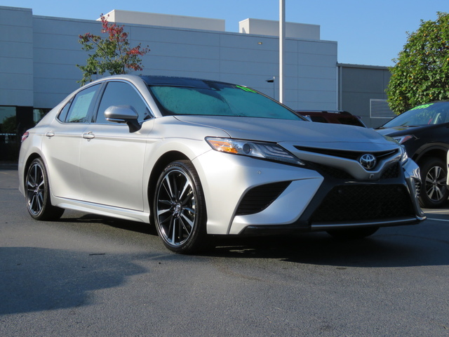 Certified Pre-Owned 2018 Toyota Camry XSE Auto (Natl)