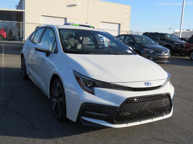 New 2020 Toyota Corolla Se Cvt 4dr Car In Huntersville 0180004