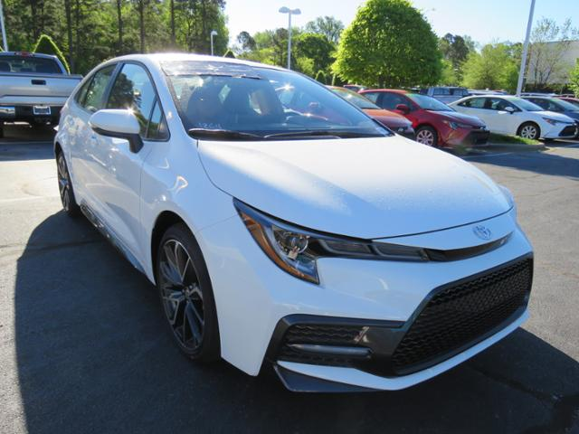 New 2020 Toyota Corolla Se Cvt 4dr Car In Huntersville 0180043