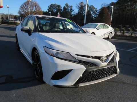 Certified Pre-Owned 2018 Toyota Camry XSE V6 Auto