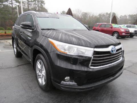 Certified Pre-Owned 2016 Toyota Highlander Hybrid AWD 4dr Limited