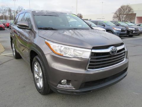 Certified Pre-Owned 2016 Toyota Highlander AWD 4dr V6 Limited