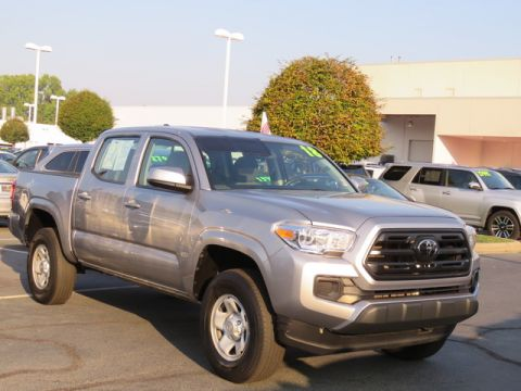 Certified Pre-Owned 2018 Toyota Tacoma SR Double Cab 5' Bed I4 4x2 AT (Natl)