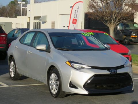 Pre-Owned 2018 Toyota Corolla LE CVT (Natl)